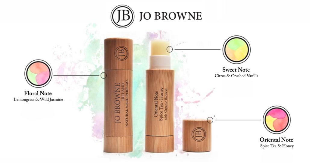 Jo Browne organic perfumes