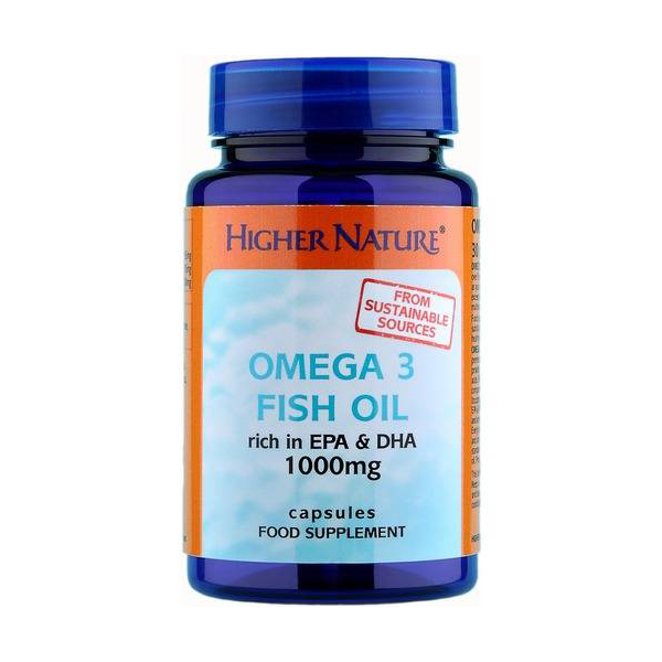 Higher nature omega 3 fish oil 90 caps for Wd 40 fish oil