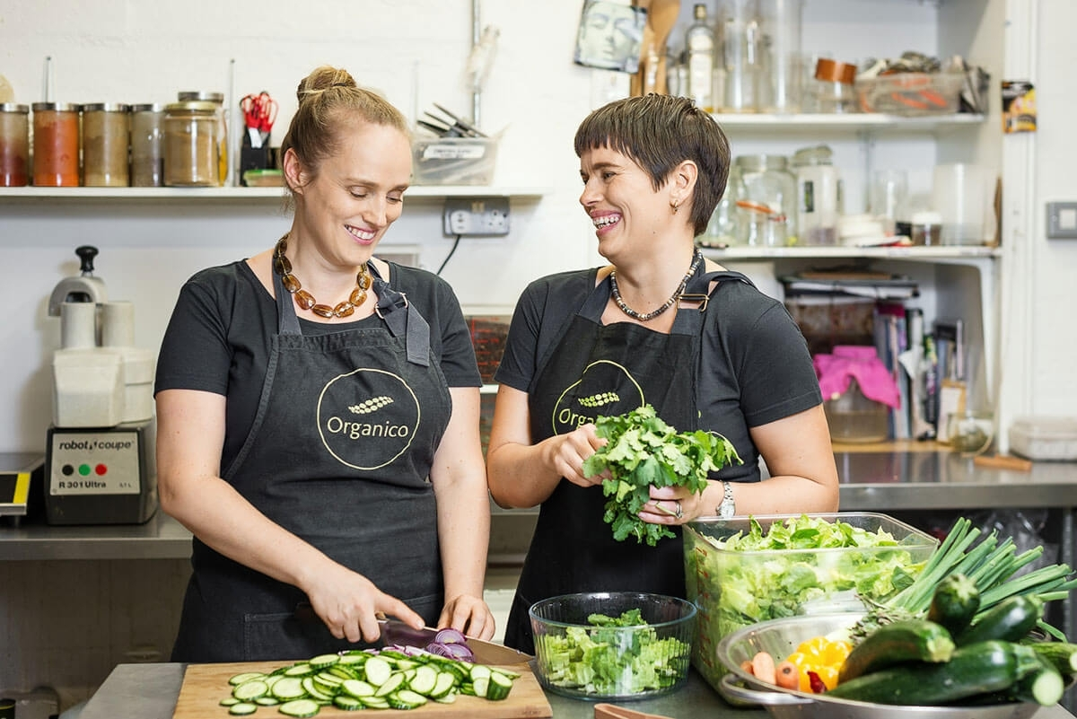 Hannah & Rachel Dare - Organico Health Food Shop