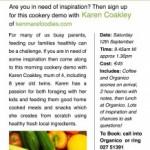 Cooking with kids the Healthy Way! With Karen Coakley of Kenmare Foodies