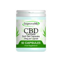 Improve Me CBD Oil Capsules at Organico