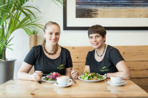 Rachel and Hannah Dare, owners of Organico in Bantry