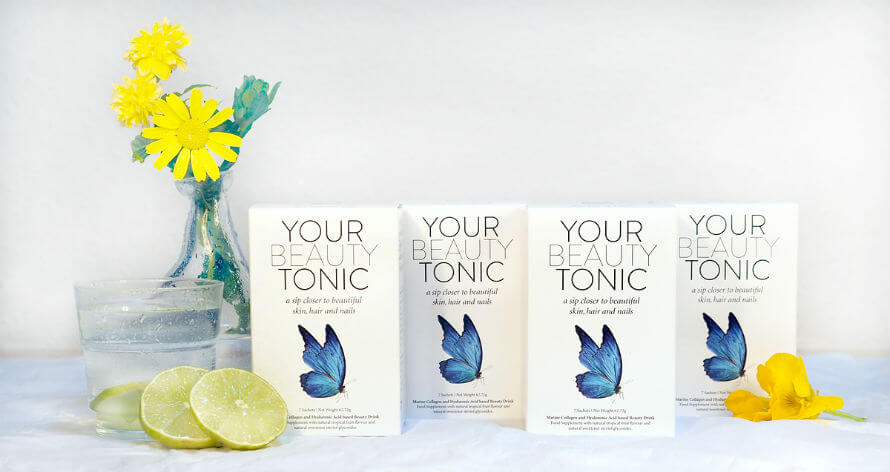 Four boxes of Your Beauty Tonic food supplement