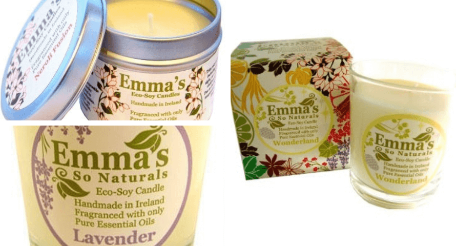 Emma's So Natural Eco-Soy Candle