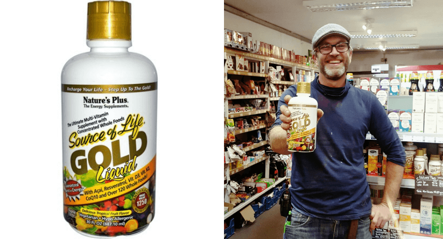 Nature's Plus Source of Life Gold Food Supplement