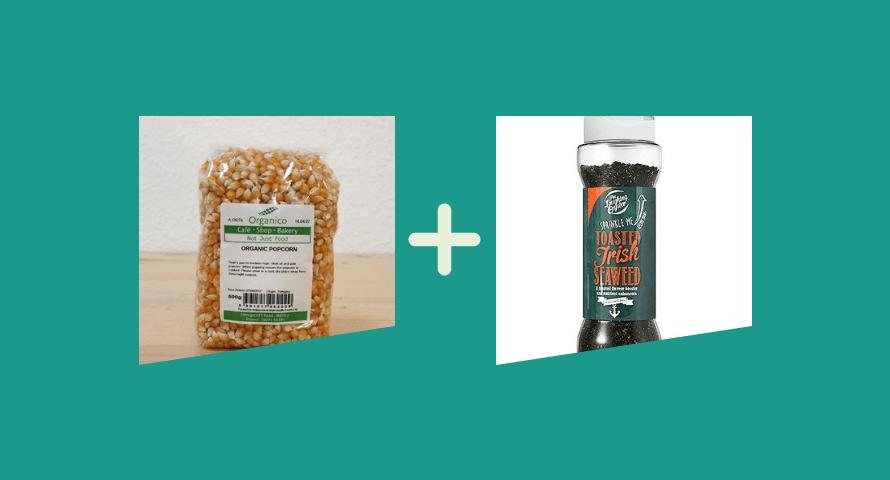 Healthy Snack: Seaweed Umami Popcorn