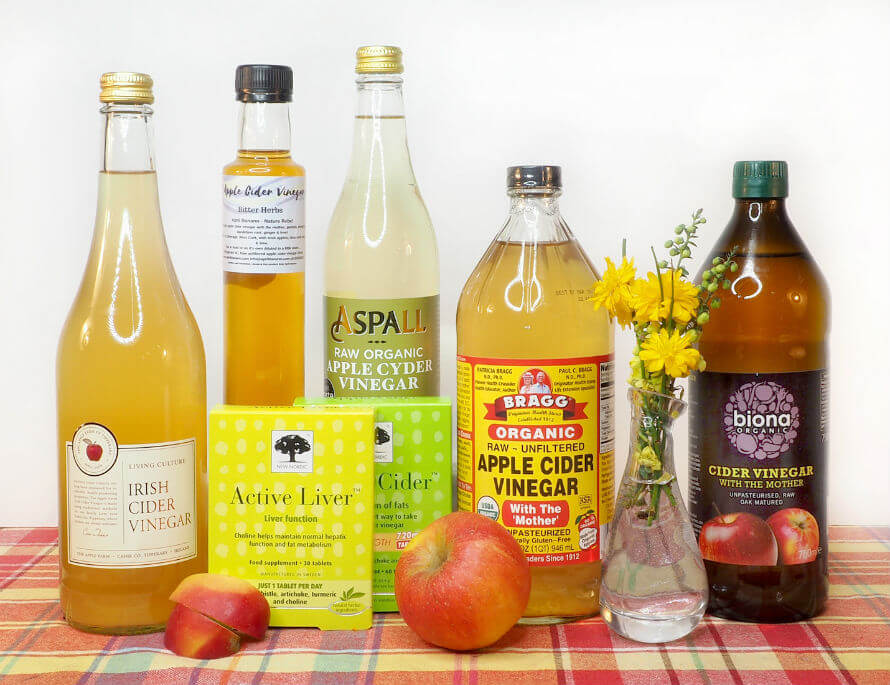 Apple Cider Vinegar products available at Organico