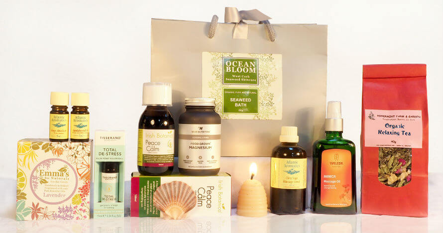 Products for a Mental Wellbeing Toolkit at Organico