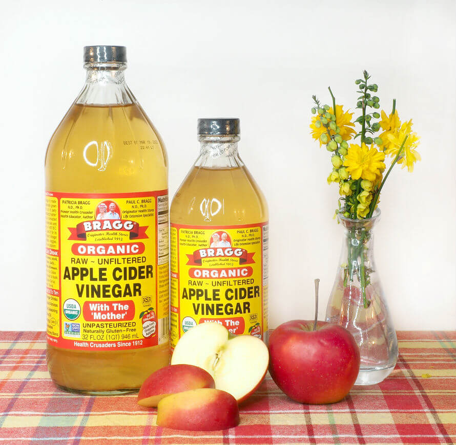 Bragg's Apple Cider Vinegar available at Organico