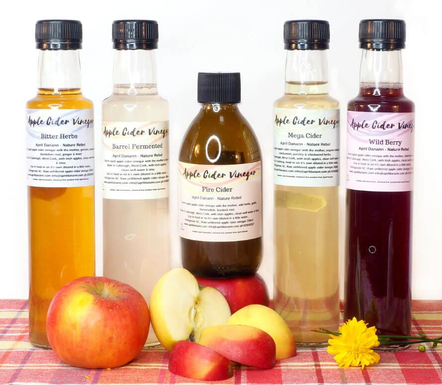 Irish brand Rebel Foods Cider Vinegar available at Organico