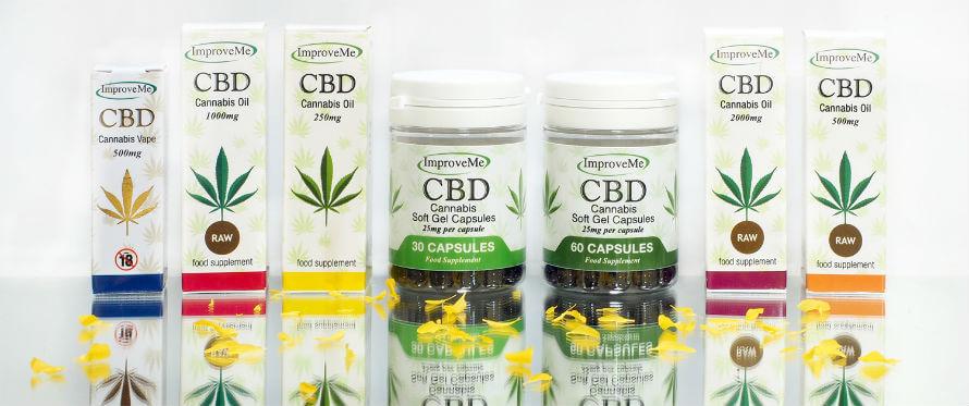 Improve Me CBD oil available at Organico