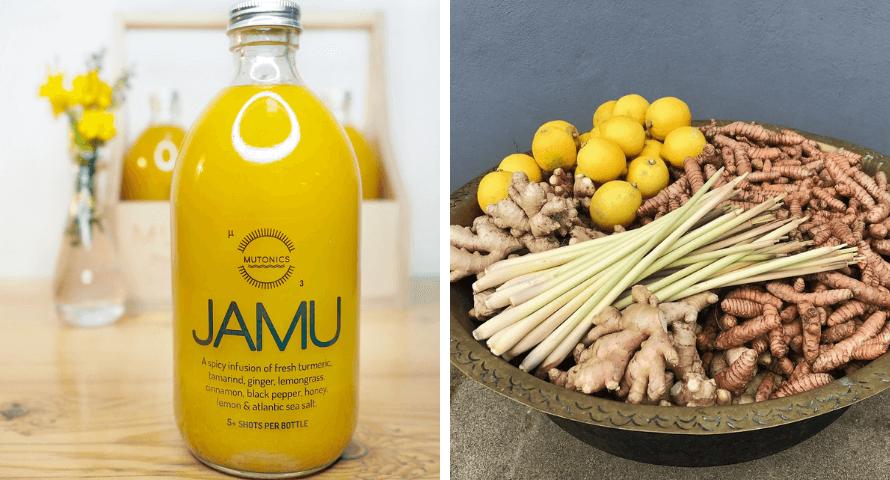 JAMU drink at Organico