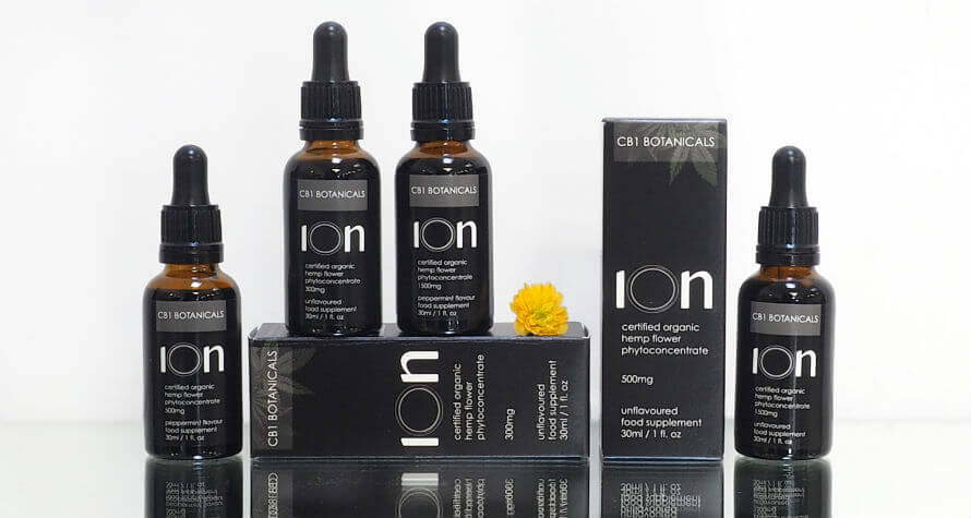 ION CBD Oil from CB1 Botanicals available at Organico