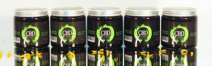 CBD Cure Xtreme CBD balm available at Organico