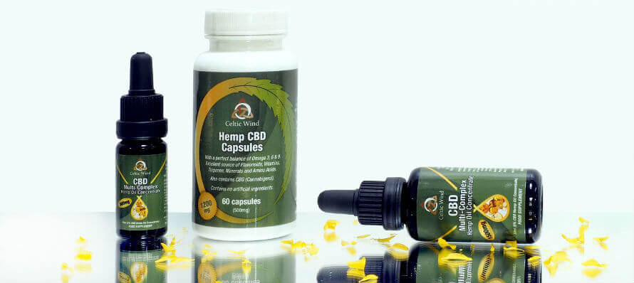 Celtic Wind CBD oil available at Organico