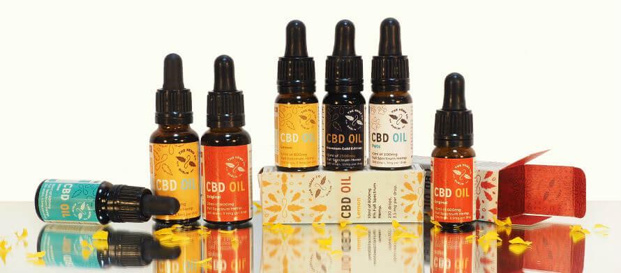The Hemp Company CBD oil available at Organico