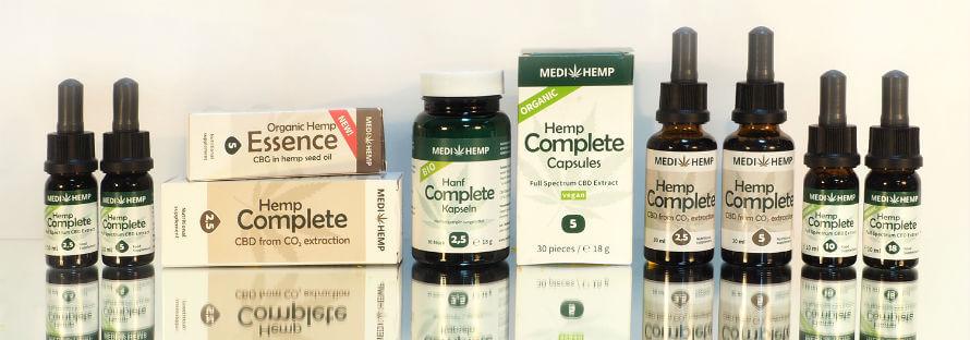 Medihemp CBD oil available at Organico