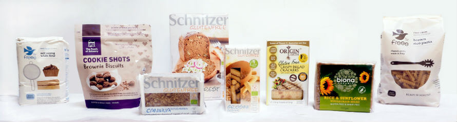 Gluten-Free Food Products available at Organico