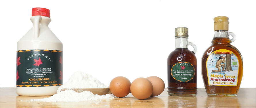 Maple Syrup selection available at Organico