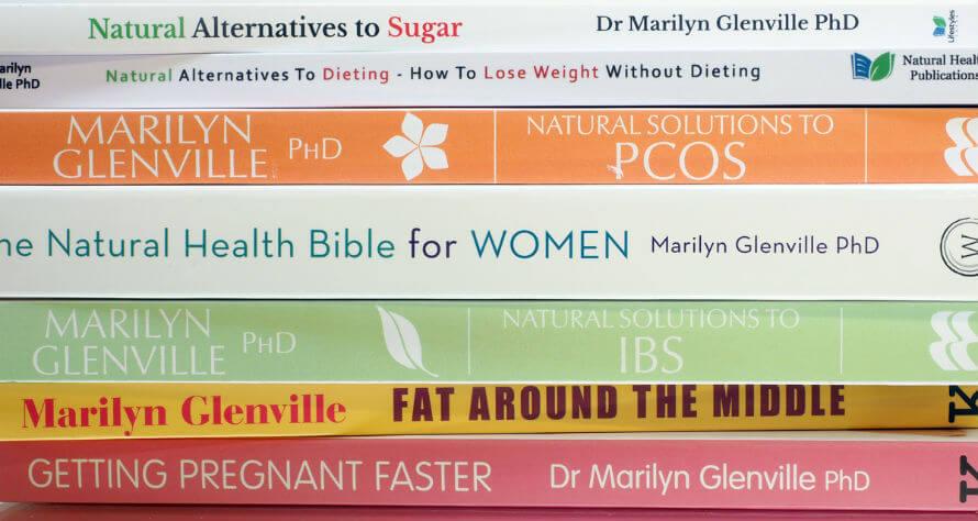 Books by women's health expert Marilyn Glenville