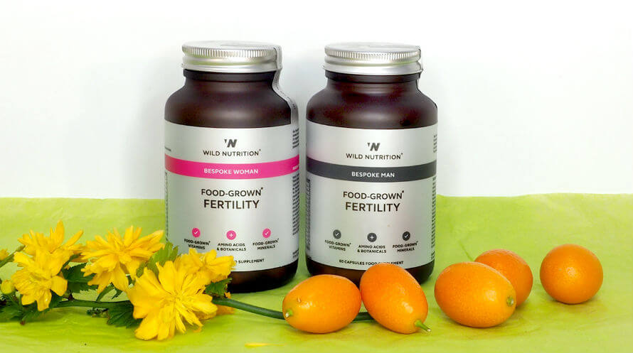 Wild Nutrition Fertility Supplements for Women and Men at Organico
