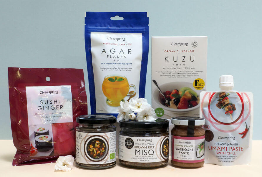 Clearspring organic sushi products available at Organico