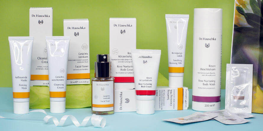 Dr Hauschka Skincare Gift Set part of Organico's May Giveaway