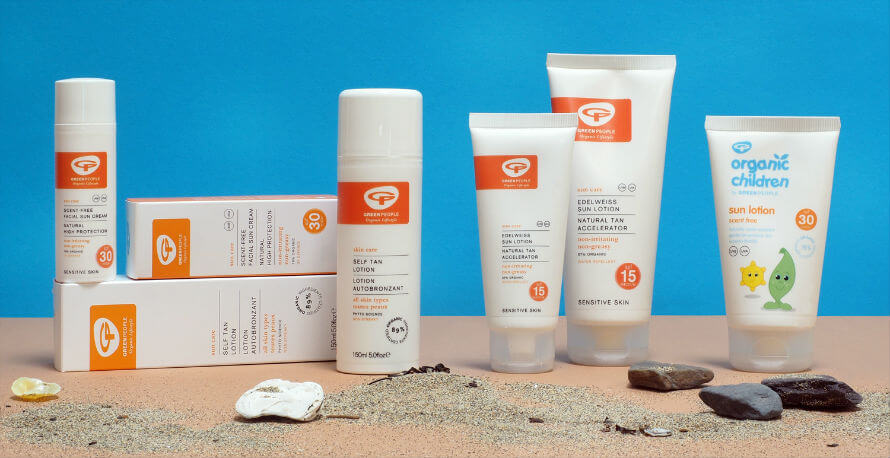 Green People Sun Protection Products Available at Organico