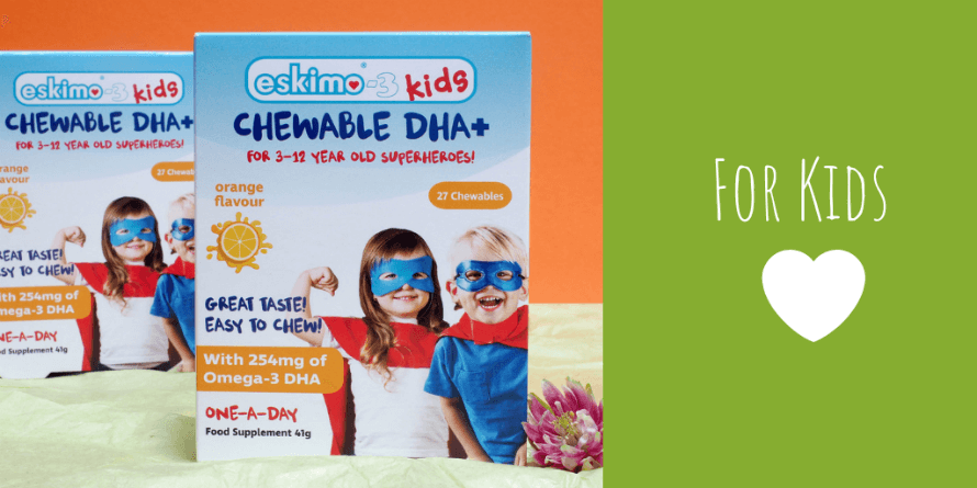 Two boxes of Eskimo-3 Kids Chewable DHA+