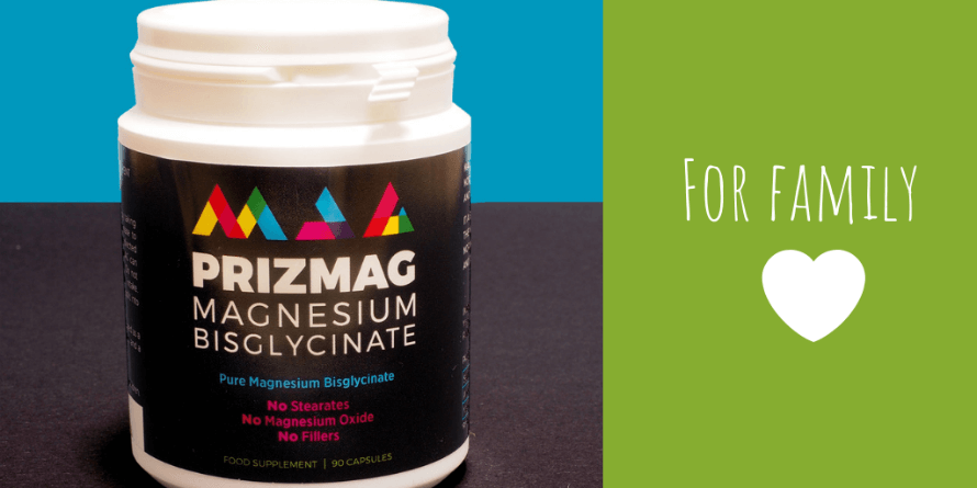 A container of MAG365 - PrizMAG Pure Magnesium Bisglycinate