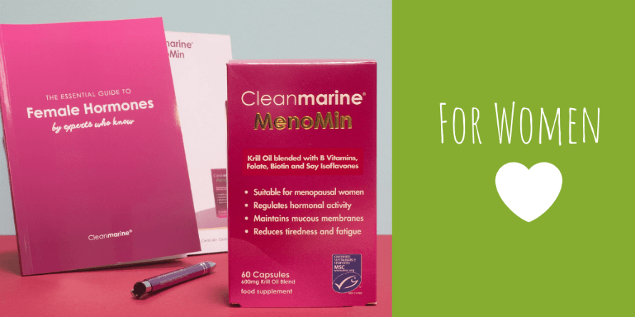 Cleanmarine MenoMin next Cleanmarine's Essential Guide to Female Hormone Health