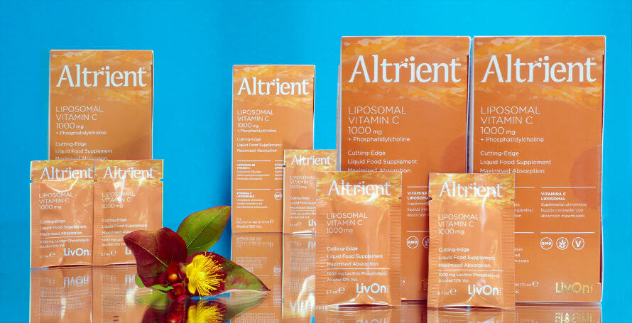 Boxes of Altrient C vitamin c supplement