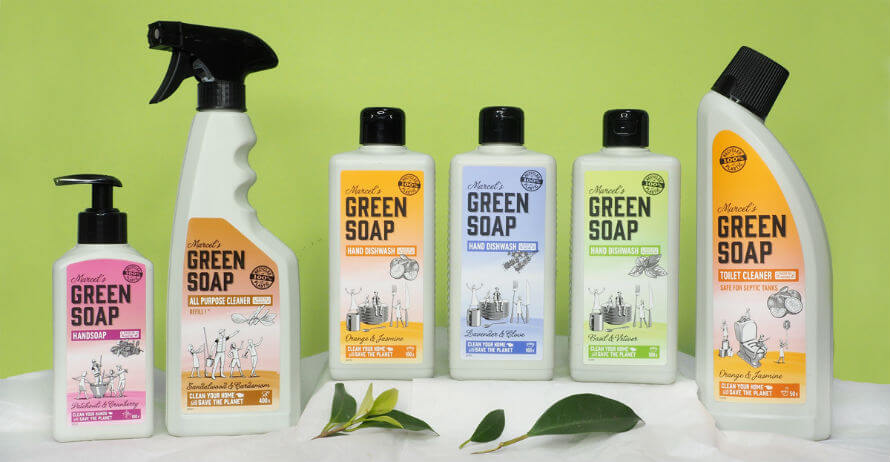 Marcel's Green Soap eco-friendly cleaning products