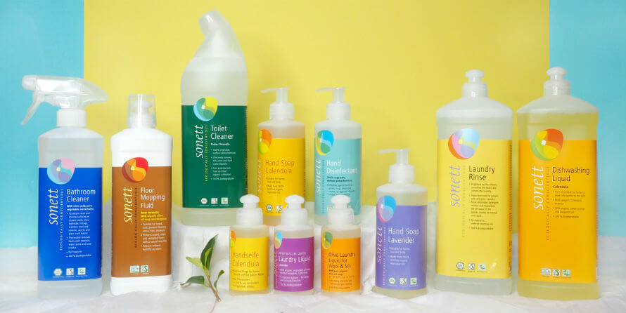 Sonett eco-friendly cleaning supplies