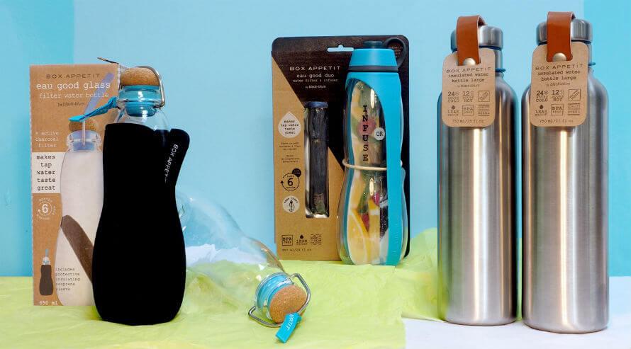 Black & Blum Plastic-Free Water Bottles