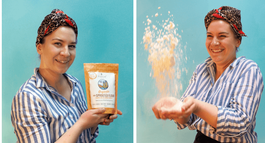 Laura from Organico and Durrow Mills Sprouted Flour